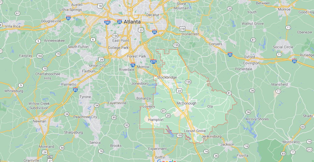 Where in Georgia is Henry County
