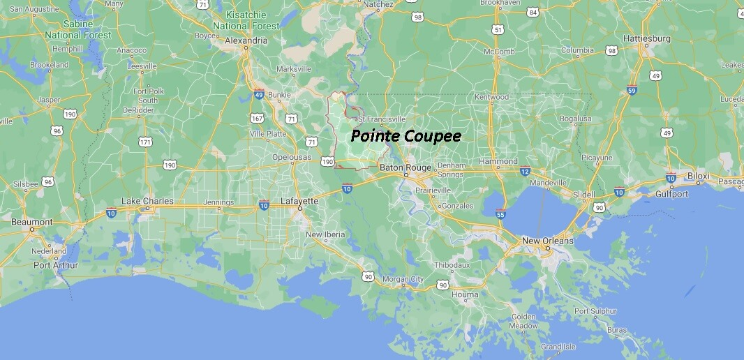 Pointe Coupee Parish Louisiana