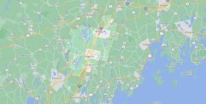 What cities are in Kennebec