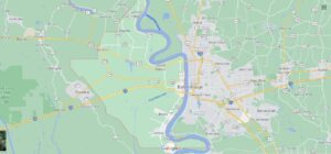 What cities are in West Baton Rouge Parish