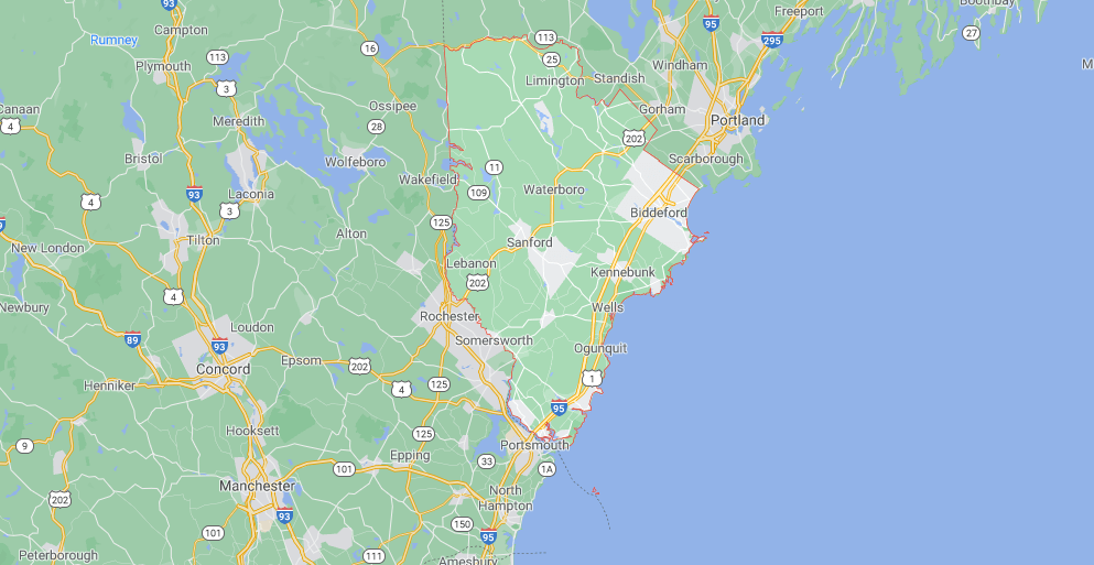 Where in Maine is York County