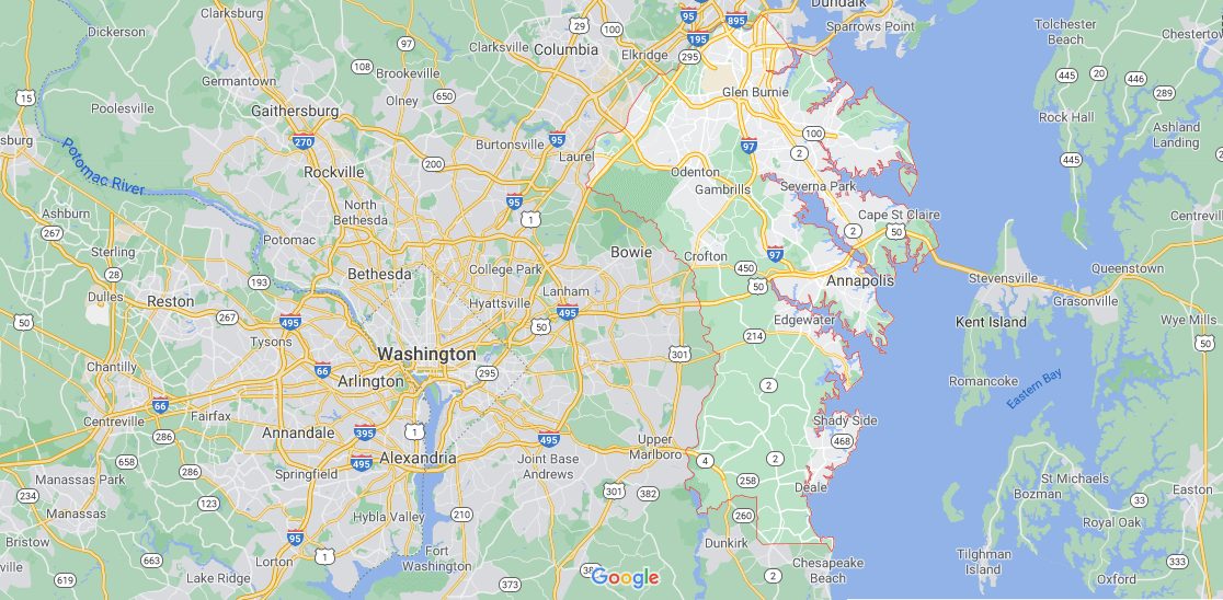Where in Maryland is York County