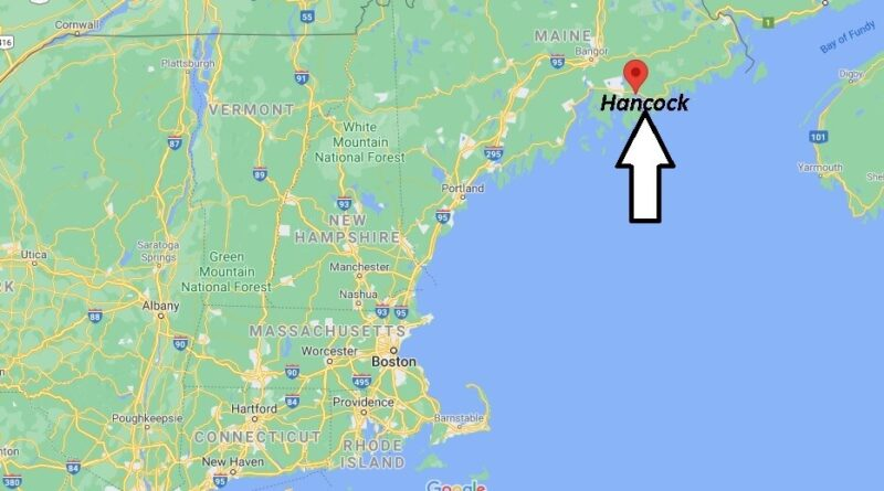 Where is Hancock Maine