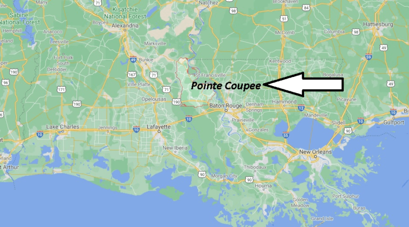 Where is Pointe Coupee Parish