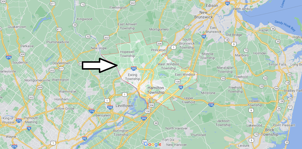 What cities are in Mercer County