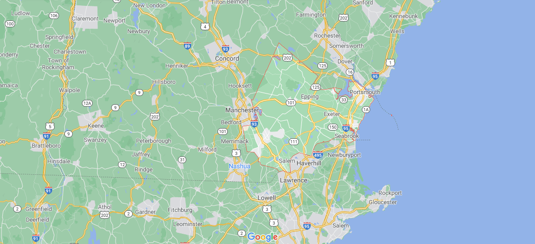 What towns make up Rockingham County NH
