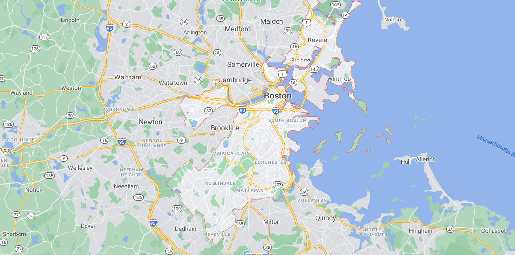 Where in Massachusetts is Suffolk County