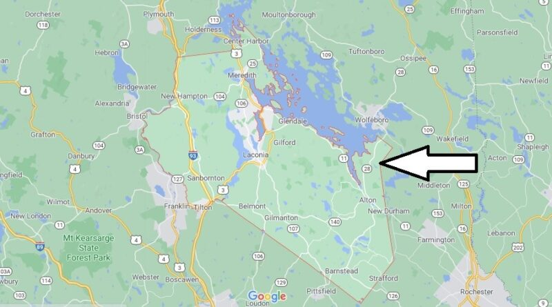 Where is Belknap County New Hampshire