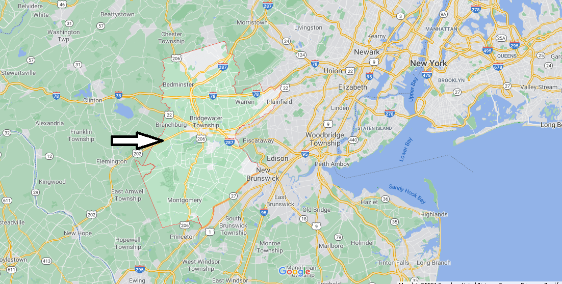 What cities are in Somerset County