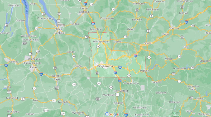 Where is Broome County New York