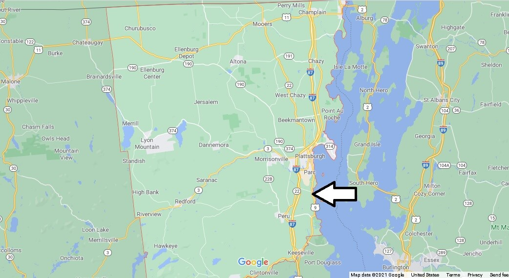 Where is Clinton County New York