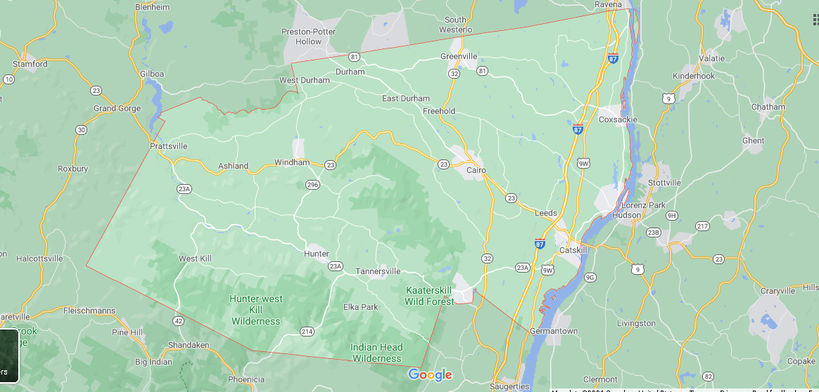 What cities are in Greene County