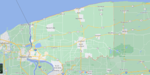What cities are in Niagara County