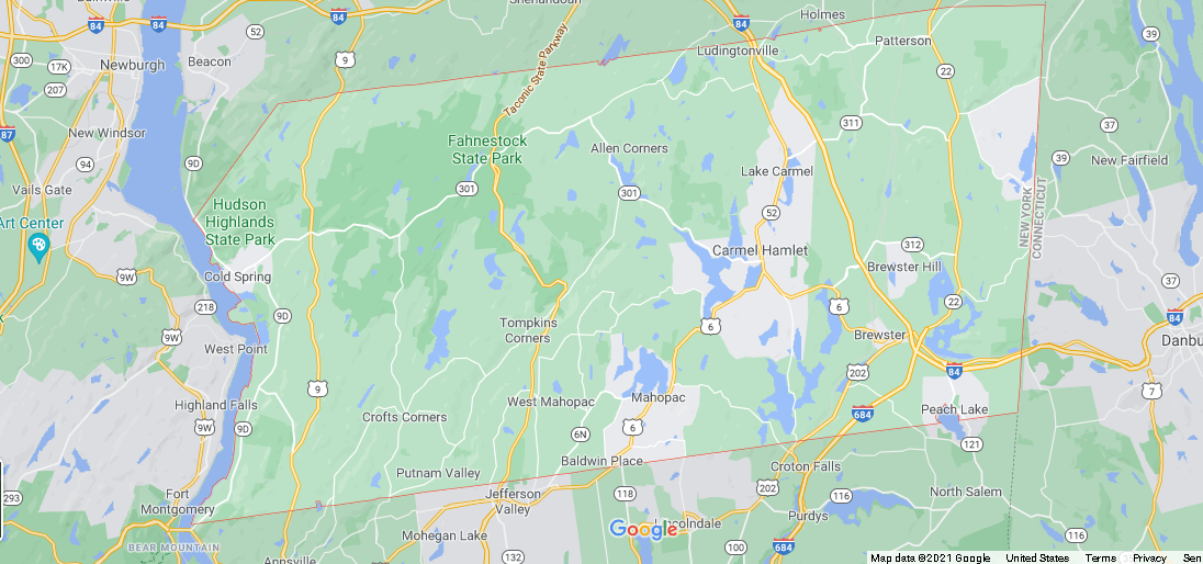 What cities are in Putnam County