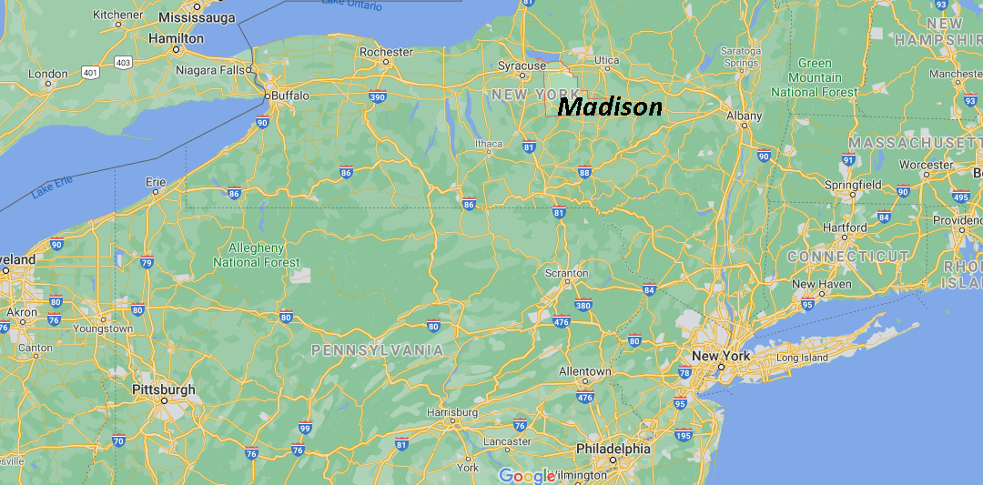 What county is Madison NY in