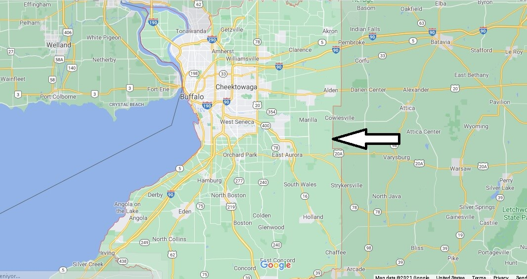 Where is Erie County New York