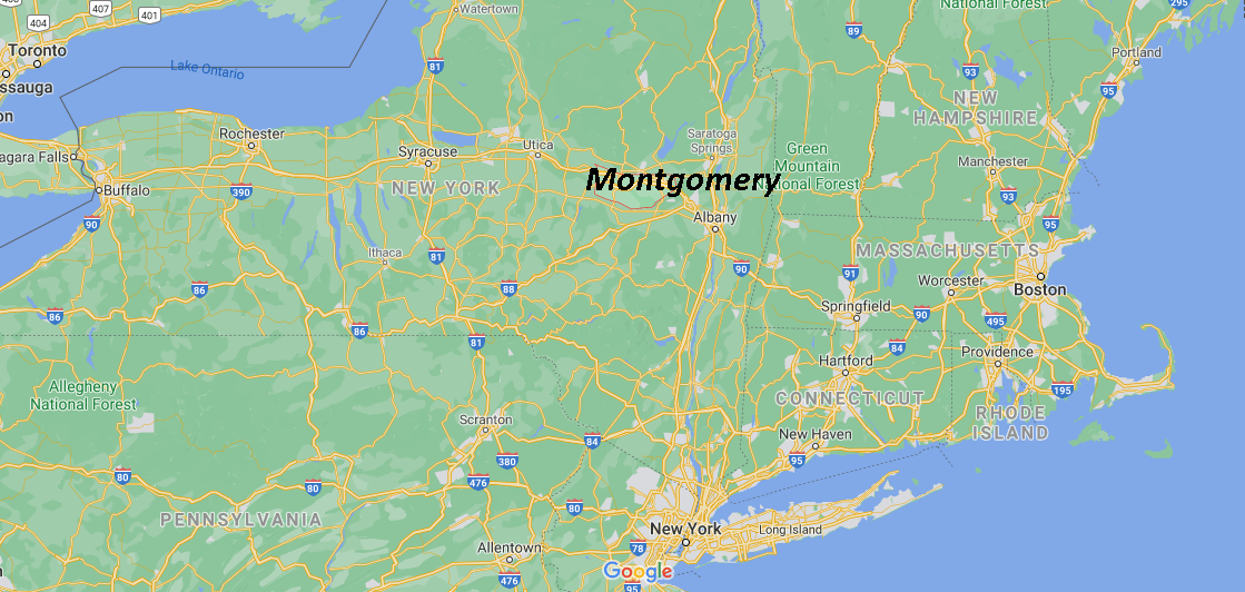 Where is Montgomery County in NY State