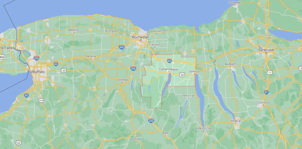 Where is Ontario County in NY State