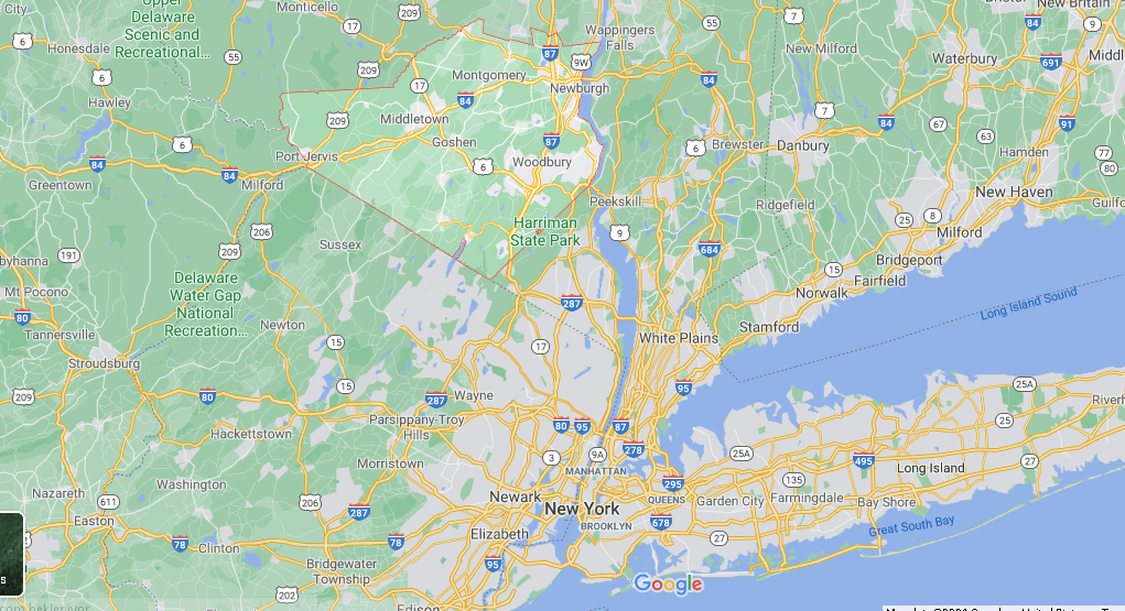 Where is Orange County in NY State