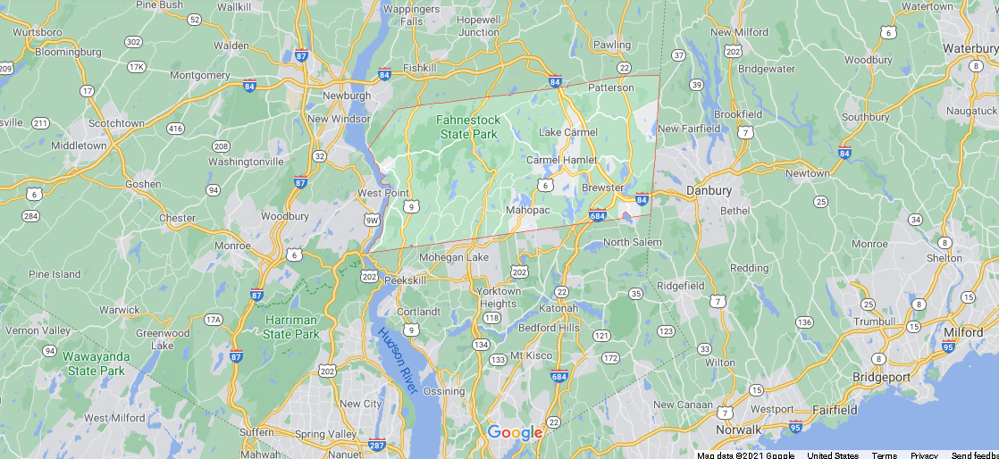 Where is Putnam County in NY State