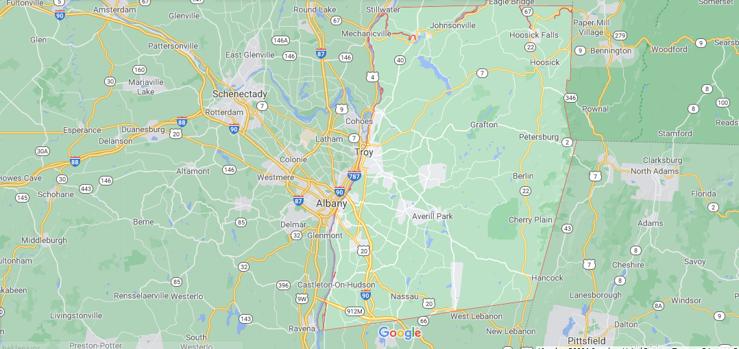 Where is Rensselaer County in NY State