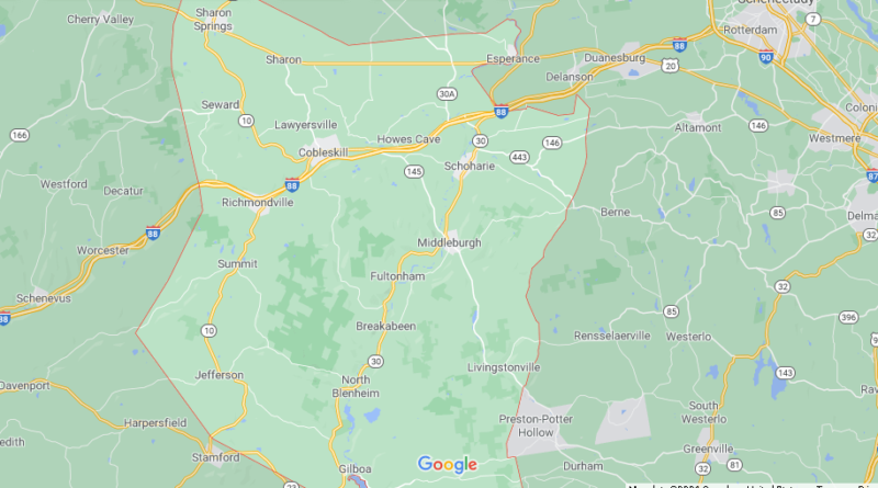 Where is Schoharie County New York