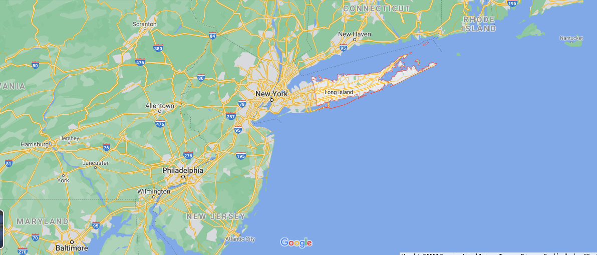 What cities are in Suffolk County