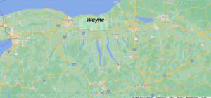 What cities are in Wayne County