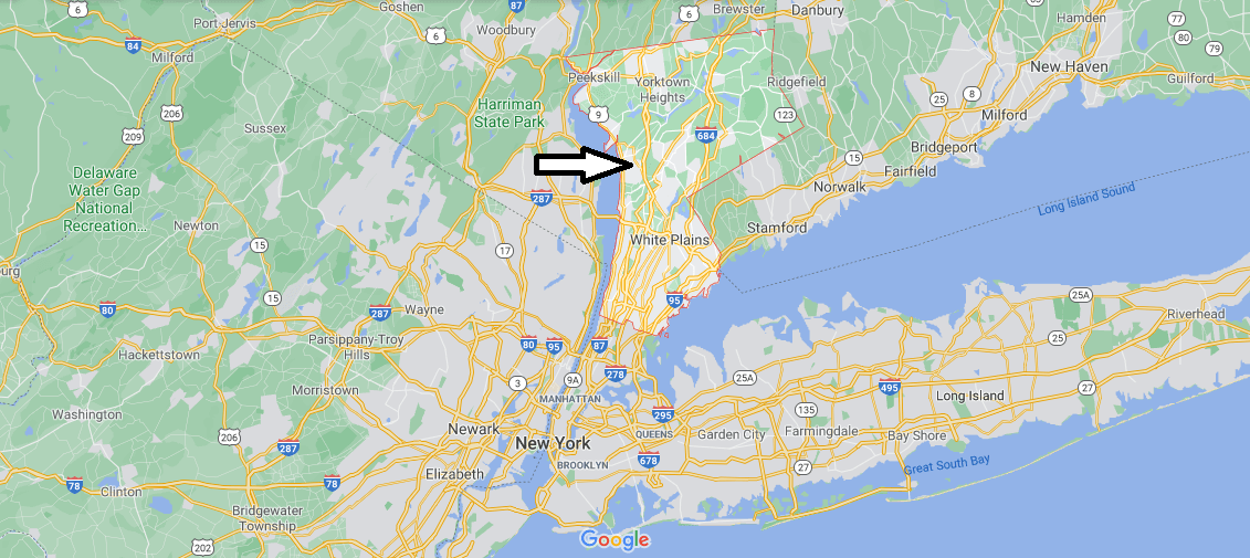 What cities are in Westchester County