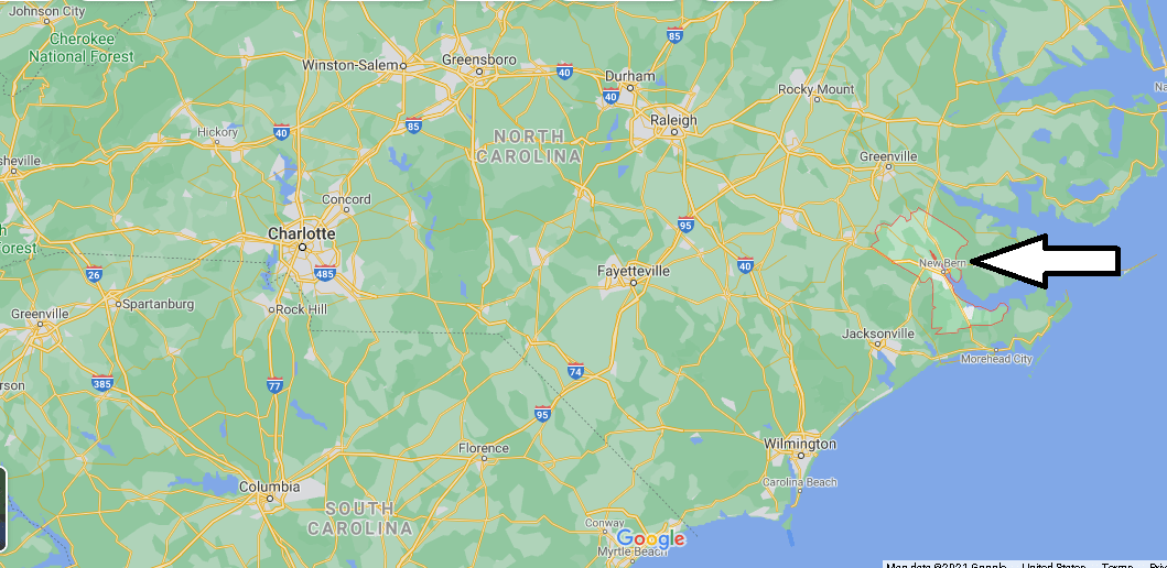 What county is Craven NC in