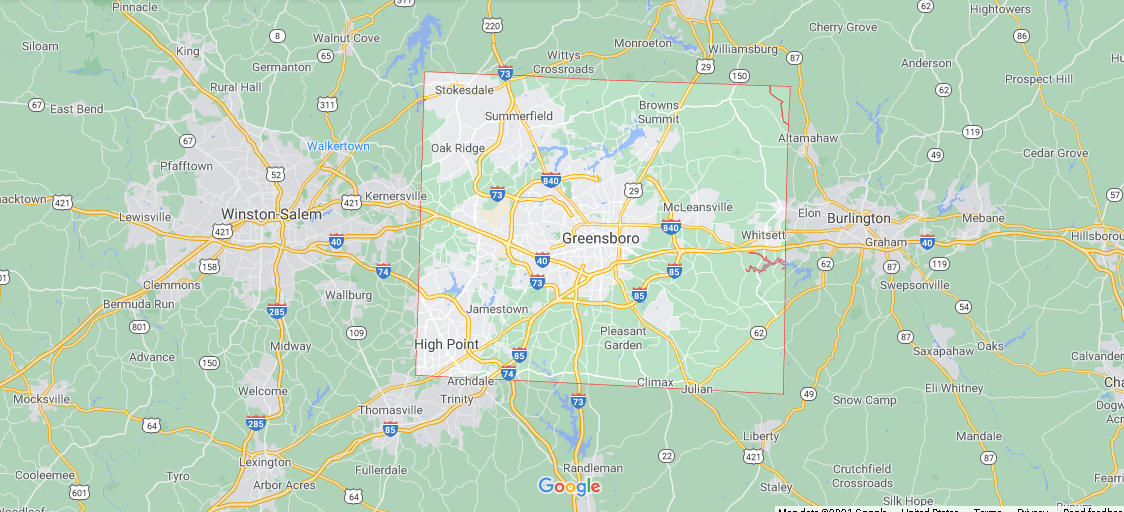 What county is Guilford NC in