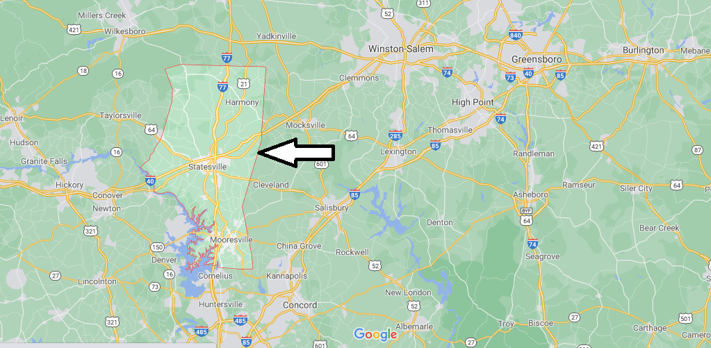 What county is Iredell NC in