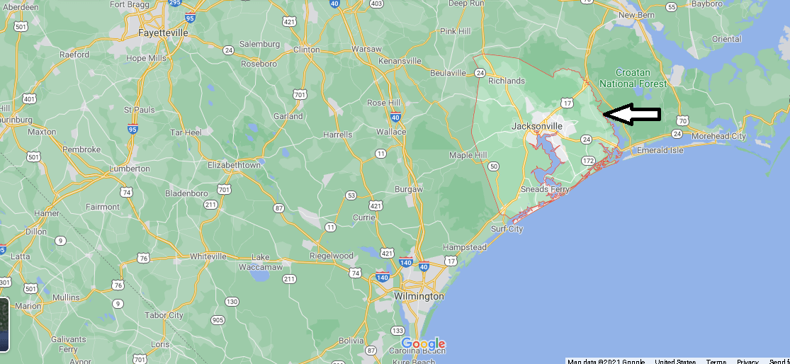 What county is Onslow NC in