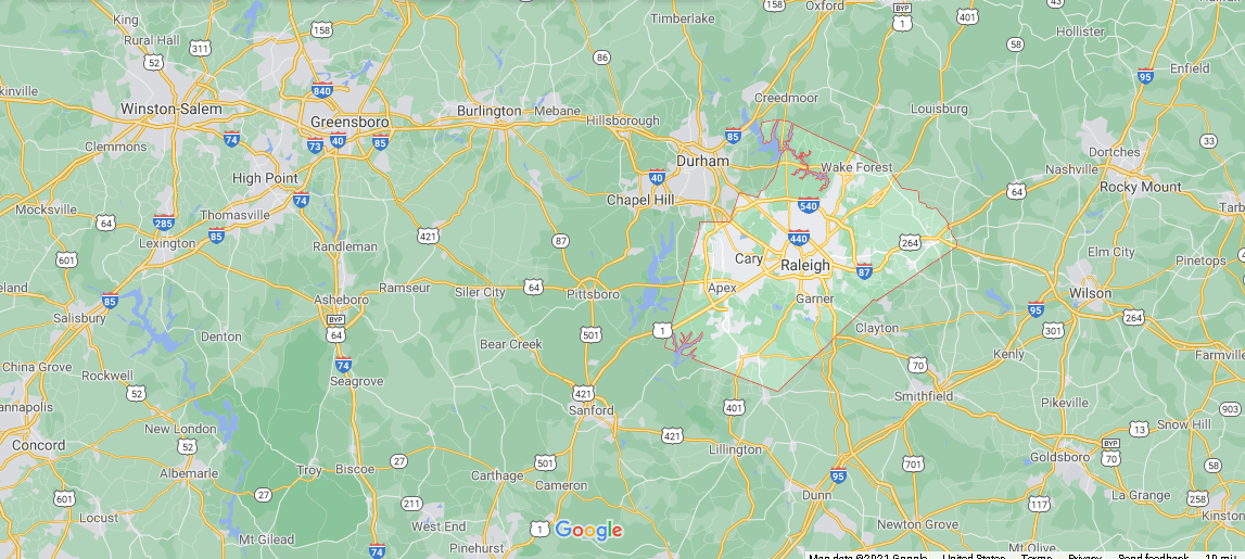 What county is Wake NC in