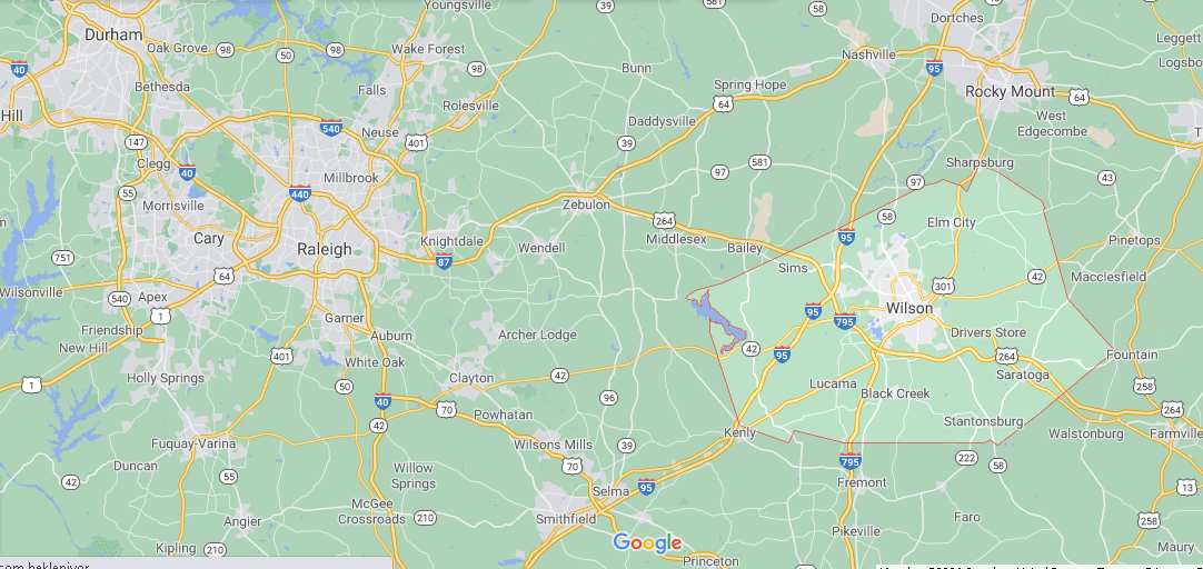What county is Wilson NC in