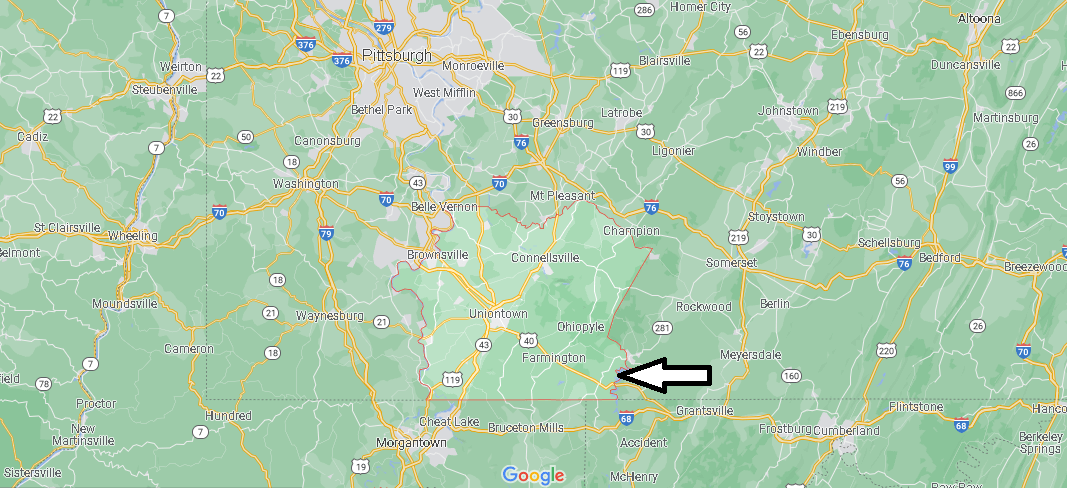 Fayette County Map