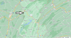 What Cities are in Huntingdon County