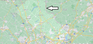 What cities are in Bucks County