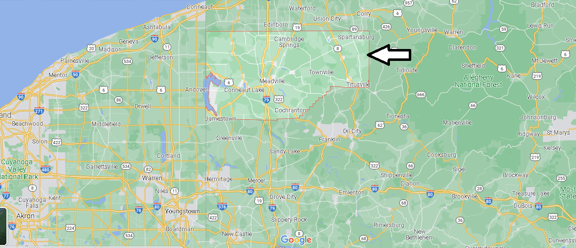 What county is Crawford PA in