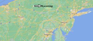Where is Lycoming County Pennsylvania