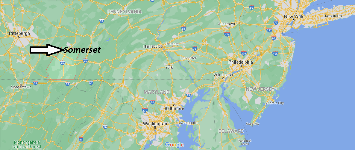 Where is Somerset County Pennsylvania