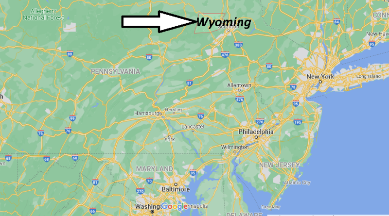 Where is Wyoming County Pennsylvania