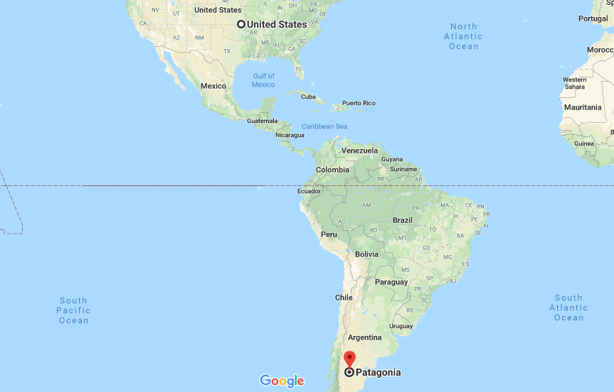 Patagonia Pictures South America >> Where is Patagonia? Located On The World Map | Where is Map