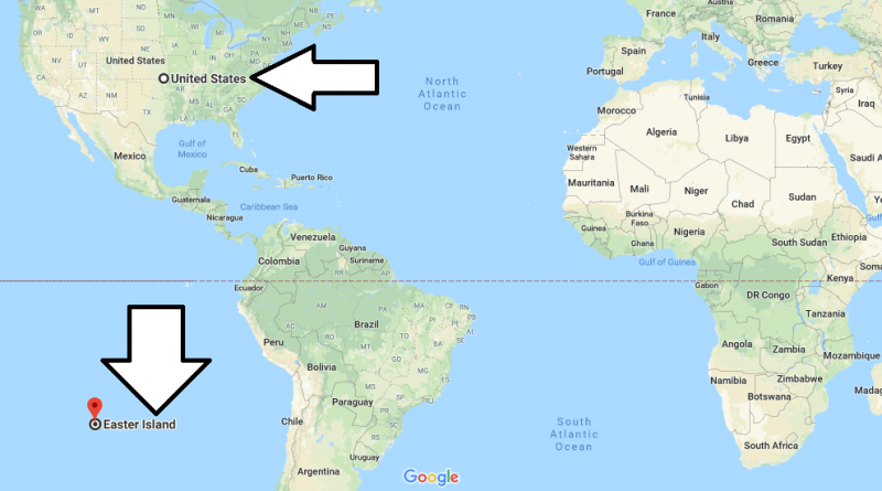 Easter Island Map World Where is Easter Island? Located on a World Map | Where is Map