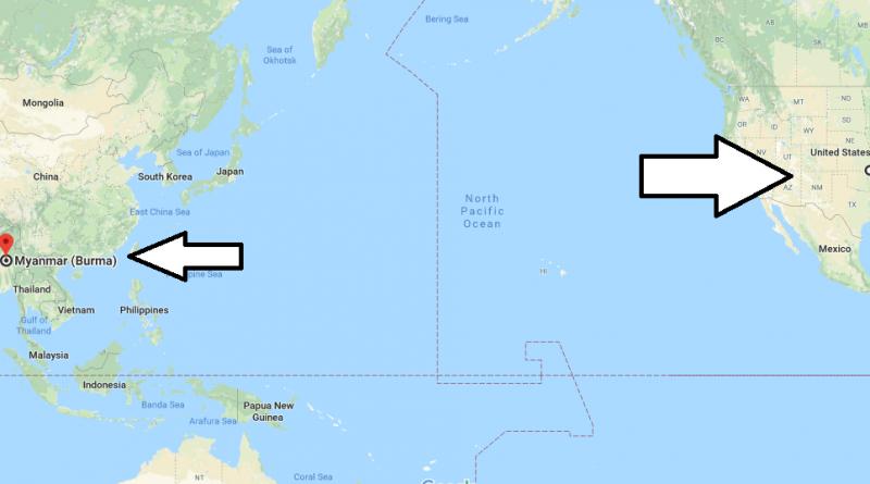 Where is Myanmar-