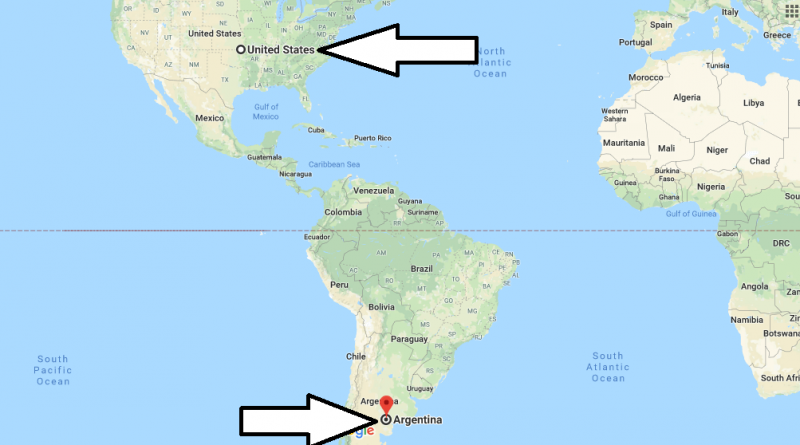 Where is Argentina - Where is Argentina Located in The World