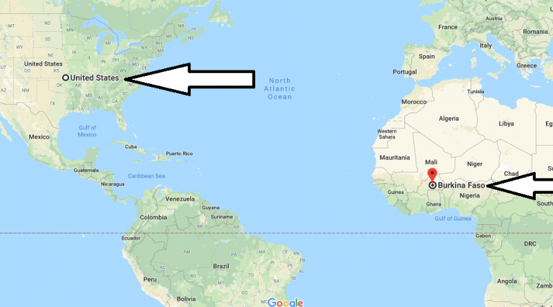 Where is Burkina Faso - Where is Burkina Faso Located in The World - Burkina Faso Map