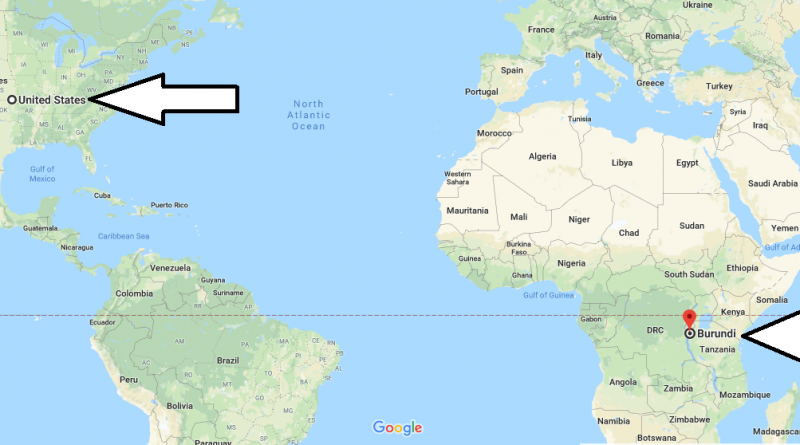 Where is Burundi - Where is Burundi Located in The World - Burundi Map