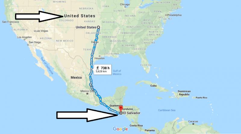 Where is El Salvador - Where is El Salvador Located in The World - El Salvador Map