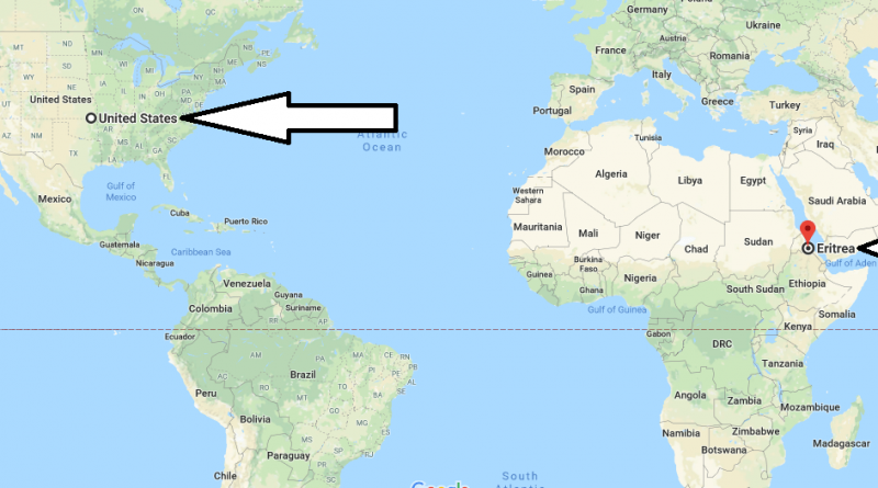 Where is Eritrea - Where is Eritrea Located in The World - Eritrea Map